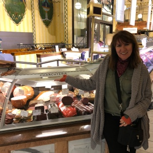 Charcuterie central at Harrods